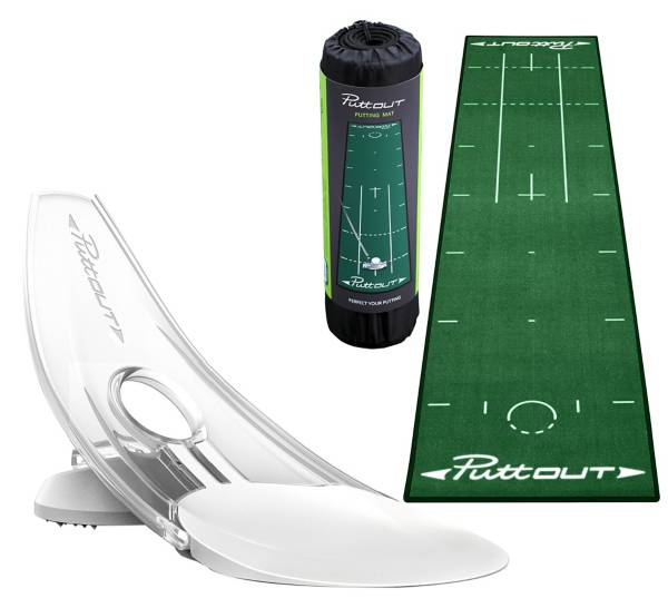 PuttOut Putting Mat & Accessory Package product image