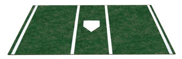 Trigon Sports Pro Turf 6' x 12' Green Home Plate Mat product image