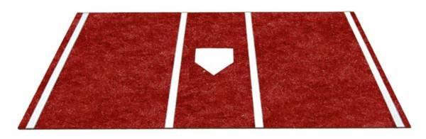 Trigon Sports Pro Turf 7' x 12' Clay Home Plate Mat product image
