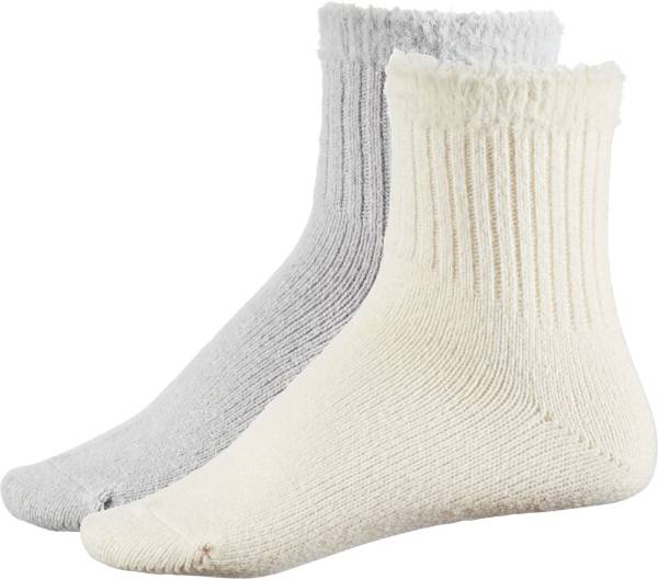 CALIA by Carrie Underwood Women's Lifestyle Fuzzy Welt Quarter Socks - 2 Pack product image