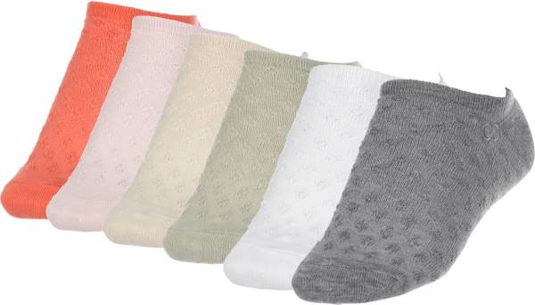 CALIA by Carrie Underwood Women's Texture Trainer Socks - 6 Pack product image
