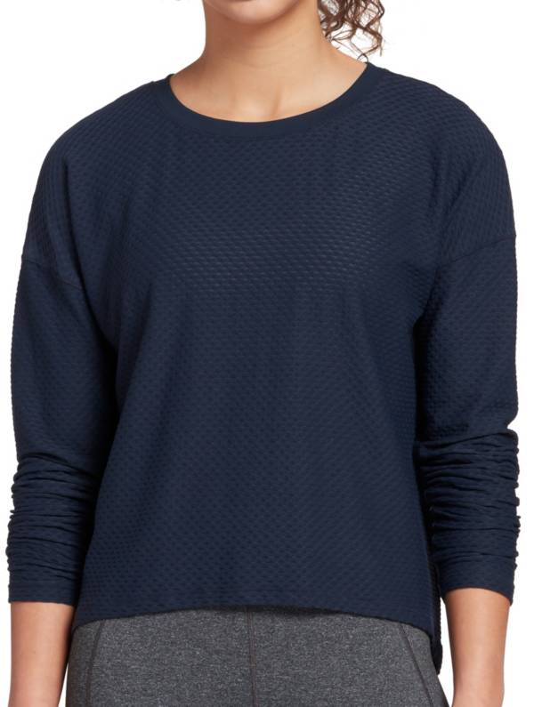 CALIA by Carrie Underwood Women's Diamond Mesh Long Sleeve Shirt product image