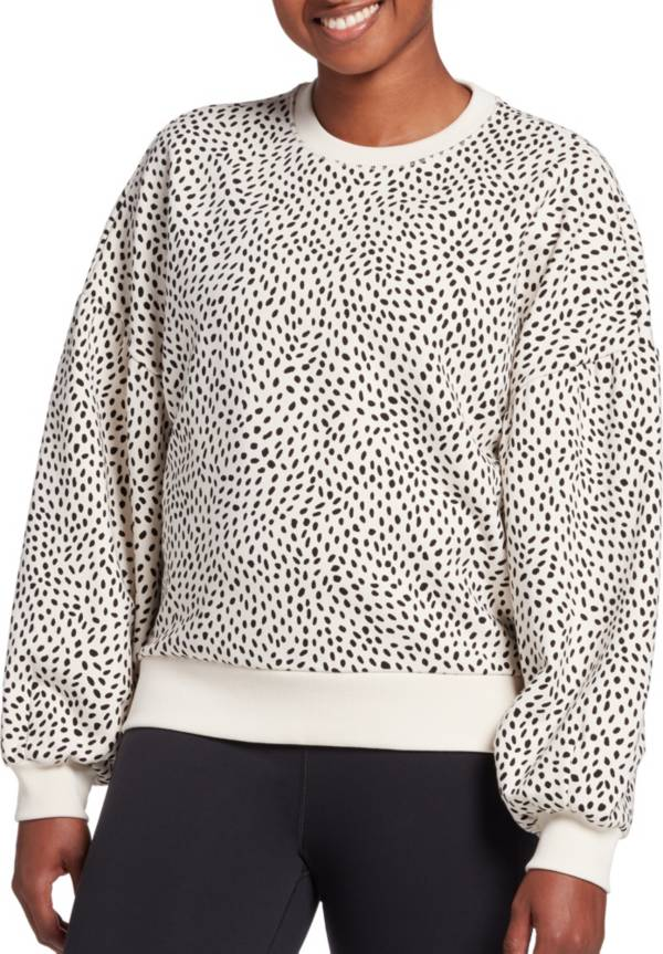CALIA by Carrie Underwood Women's Drop Shoulder French Terry Pullover product image