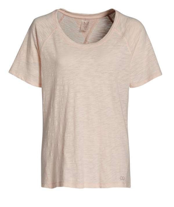 CALIA by Carrie Underwood Women's Flow Keyhole Tieback T-Shirt (Regular and Plus) product image