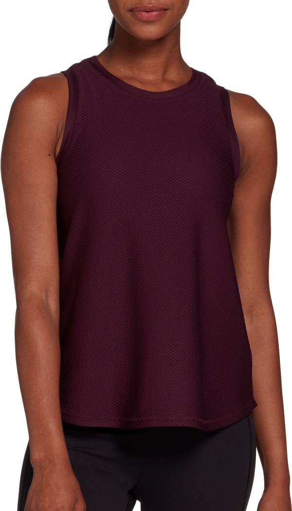 CALIA by Carrie Underwood Women's High-Low Mesh Tank Top (Regular and Plus) product image