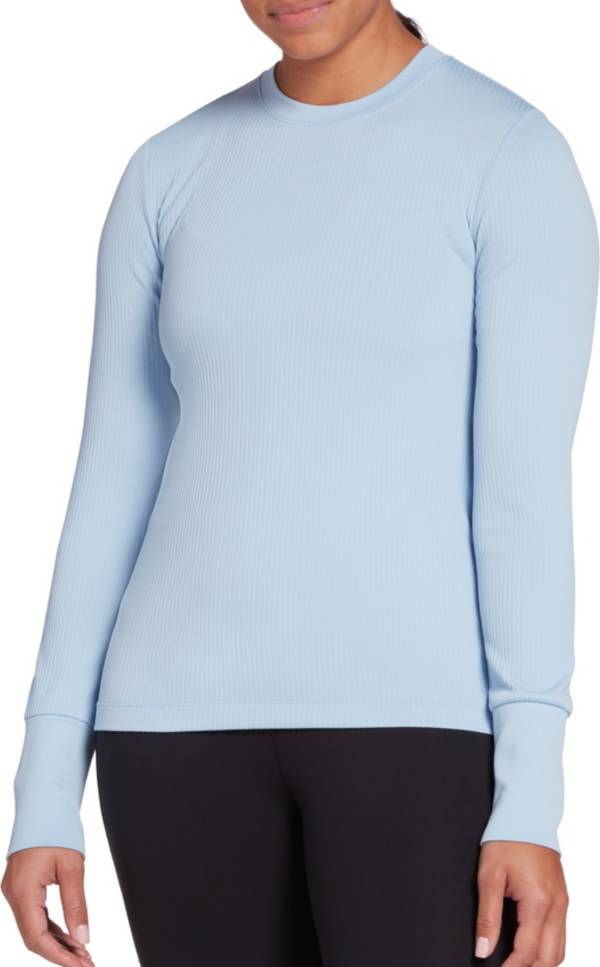 CALIA by Carrie Underwood Women's Flow Rib Crew Long Sleeve Shirt (Regular and Plus) product image