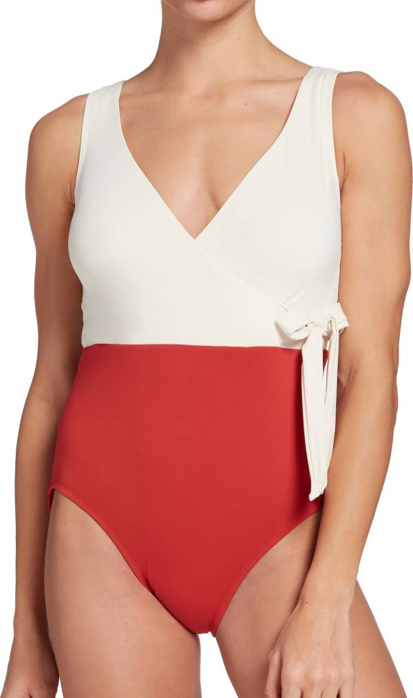 CALIA by Carrie Underwood Women's Wrap Tie One Piece Swimsuit product image