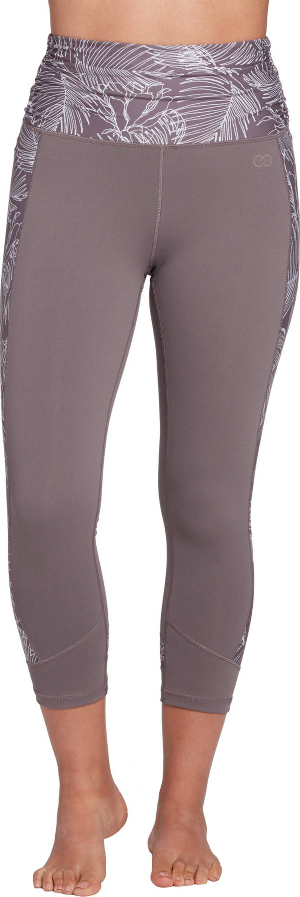 CALIA by Carrie Underwood Women's Essential Ruched Print Capris product image