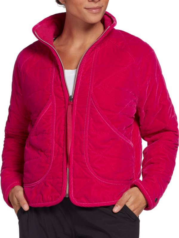 CALIA by Carrie Underwood Women's Everyday Velour Quilted Shell Jacket product image