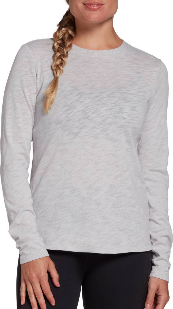 CALIA by Carrie Underwood Women's Everyday Crewneck Long Sleeve Shirt (Regular and Plus) product image