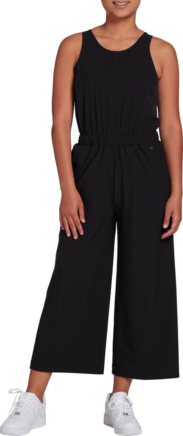 CALIA by Carrie Underwood Women's Wide Leg Overlap Jumpsuit product image