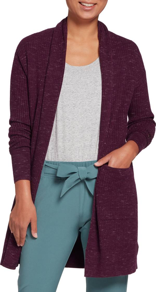 CALIA by Carrie Underwood Women's Waffle Duster Cardigan product image