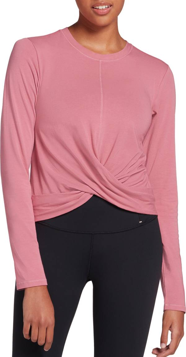 CALIA by Carrie Underwood Women's Wrap Front Long Sleeve Shirt product image