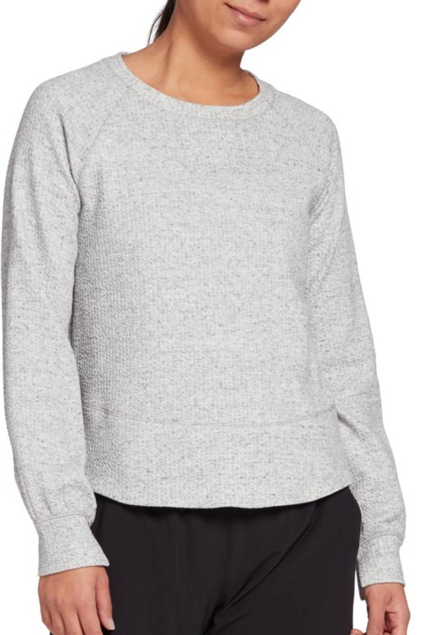 CALIA by Carrie Underwood Women's Textured Crewneck Pullover product image