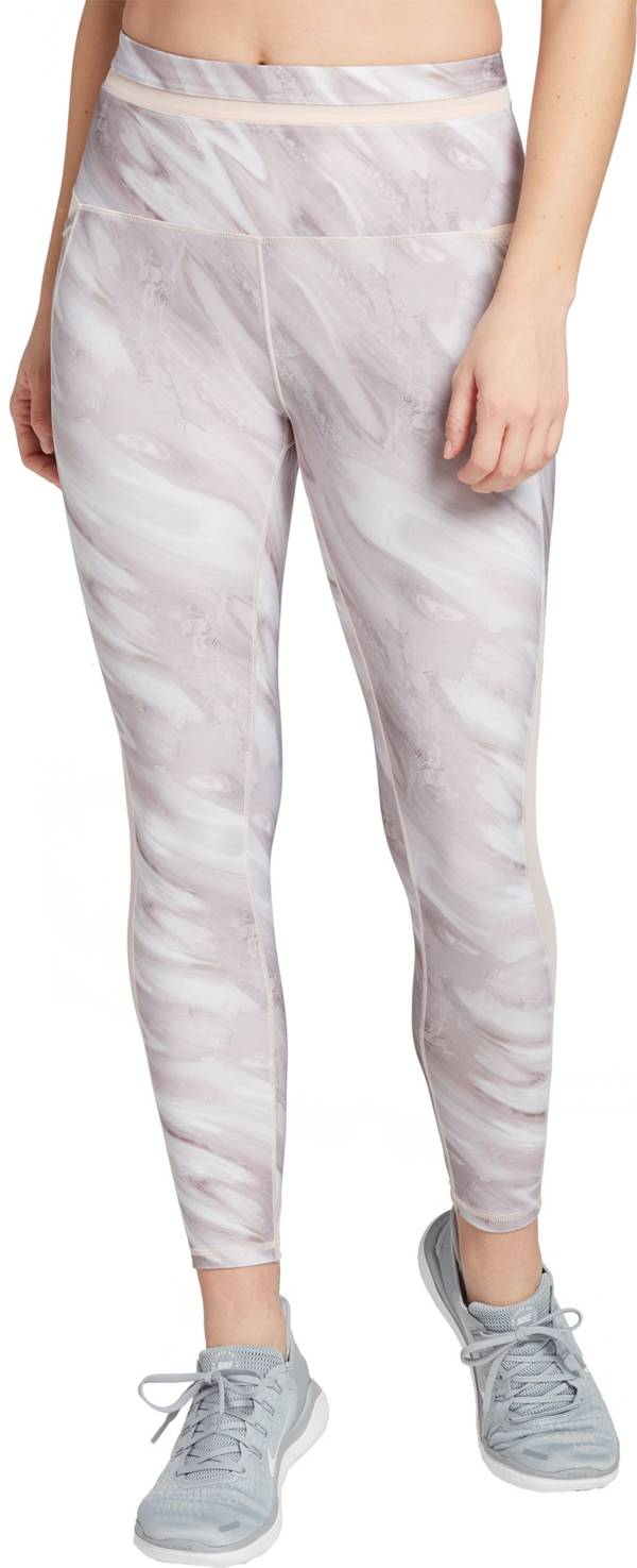 CALIA by Carrie Underwood Women's Energize Mesh Inset Printed 7/8 Leggings product image