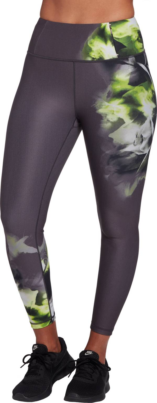 CALIA by Carrie Underwood Women's Essential High Rise Placed Print 7/8 Leggings (Regular and Plus) product image