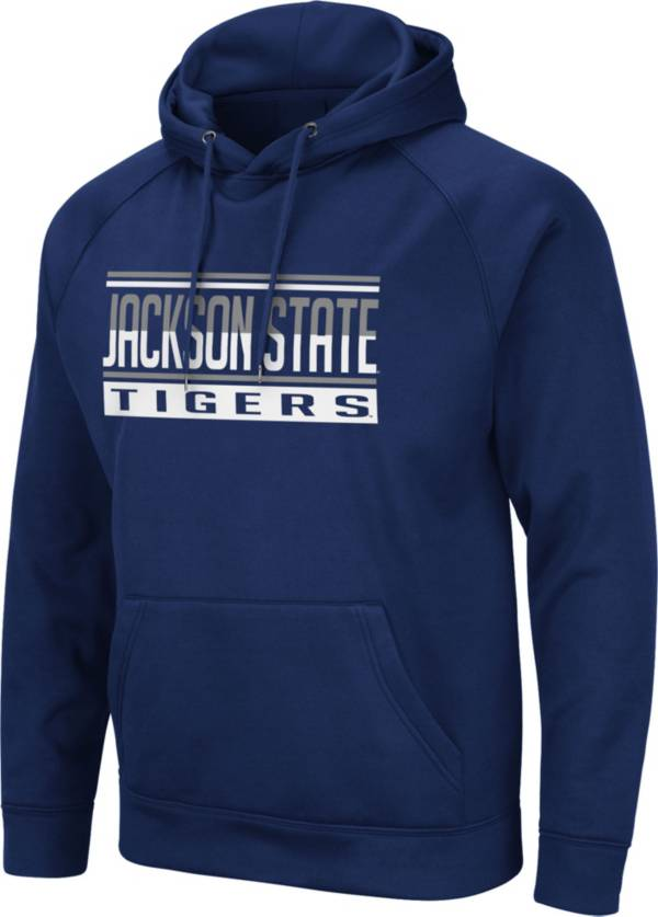 Colosseum Men's Jackson State Tigers Navy Blue Pullover Hoodie product image