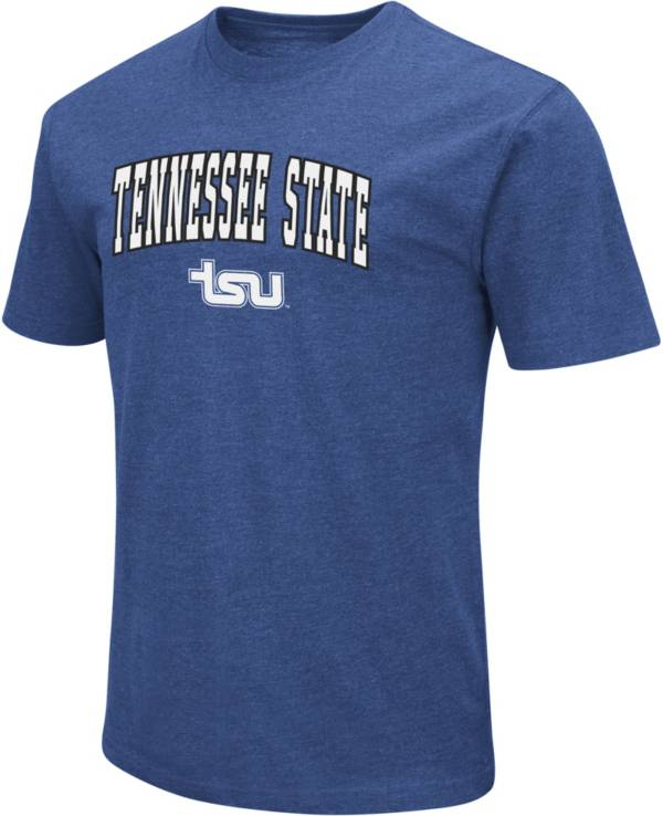 Colosseum Men's Tennessee State Tigers Royal Blue Playbook T-Shirt product image