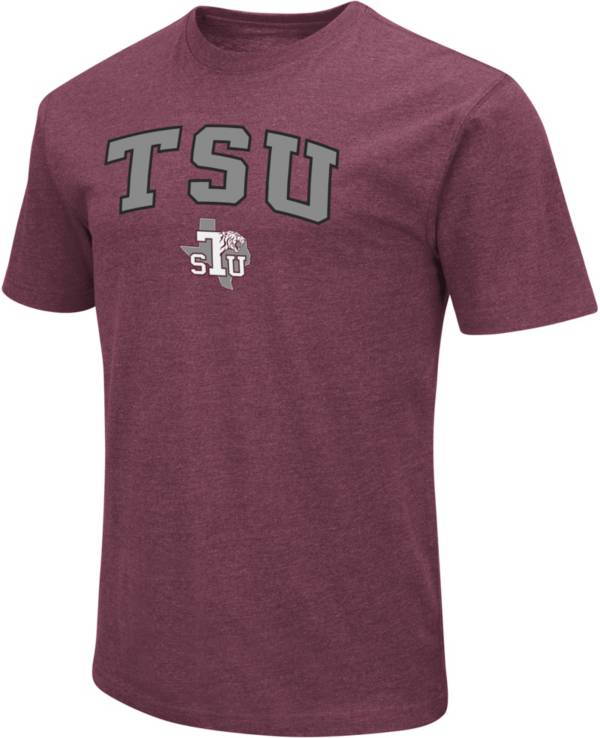 Colosseum Men's Texas Southern Tigers Maroon Playbook T-Shirt product image
