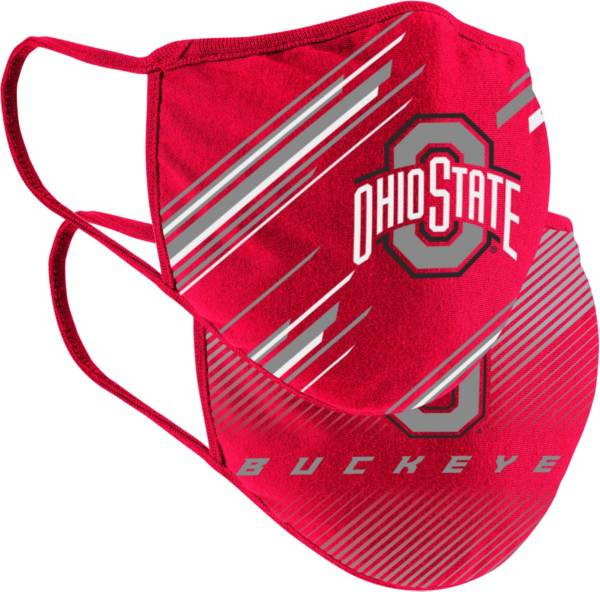 Colosseum Youth Ohio State Buckeyes 2-Pack Face Coverings product image