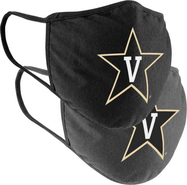 Colosseum Vanderbilt Commodores 2-Pack Face Coverings product image