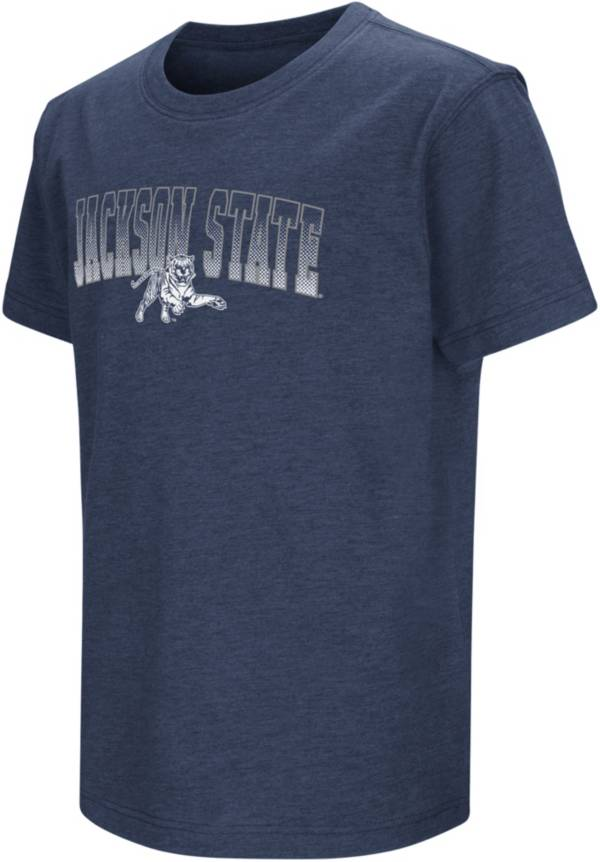 Colosseum Youth Jackson State Tigers Navy Blue Playbook T-Shirt product image