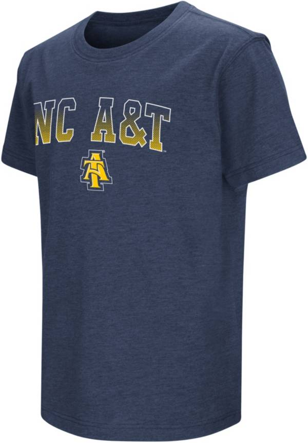 Colosseum Youth North Carolina A&T Aggies Aggie Blue Playbook T-Shirt product image