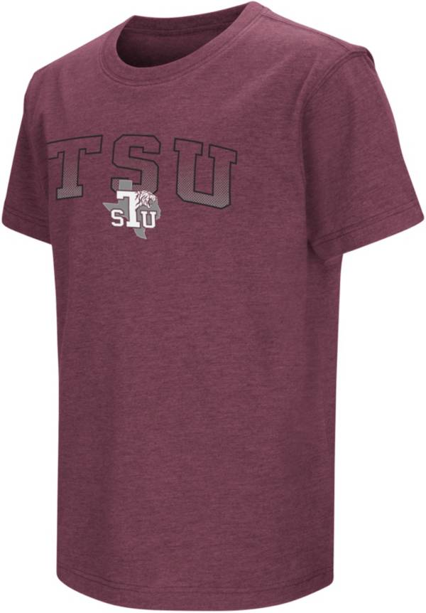 Colosseum Youth Texas Southern Tigers Maroon Playbook T-Shirt product image