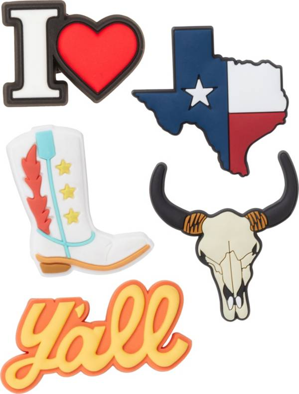 Crocs Jibbitz 3D Texas 5 Pack product image