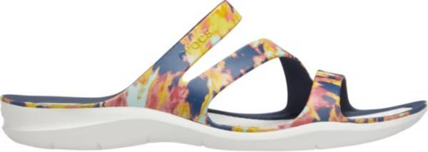 Crocs Women's Swiftwater Tie Dye Mania Sandals product image