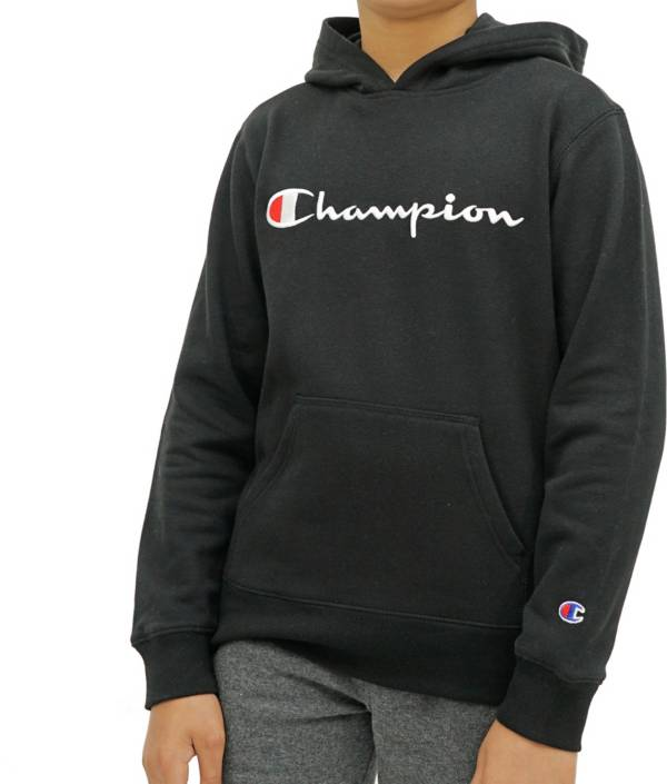 Champion Boys' Embroidered Signature Hoodie product image