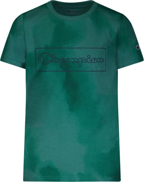 Champion Boys' Cloud Script Outline Short Sleeve T-Shirt product image