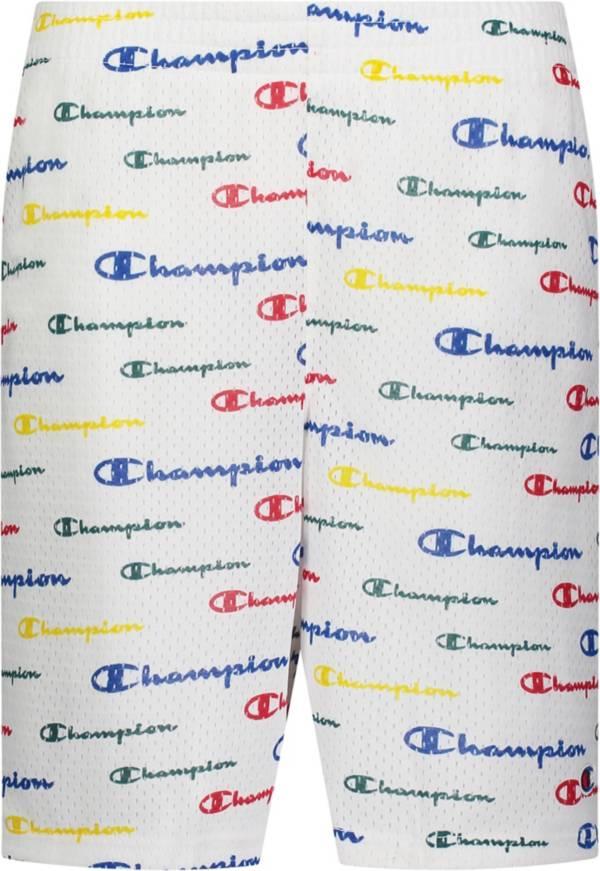 Champion Boys' AOP Multi Script Mesh Shorts product image