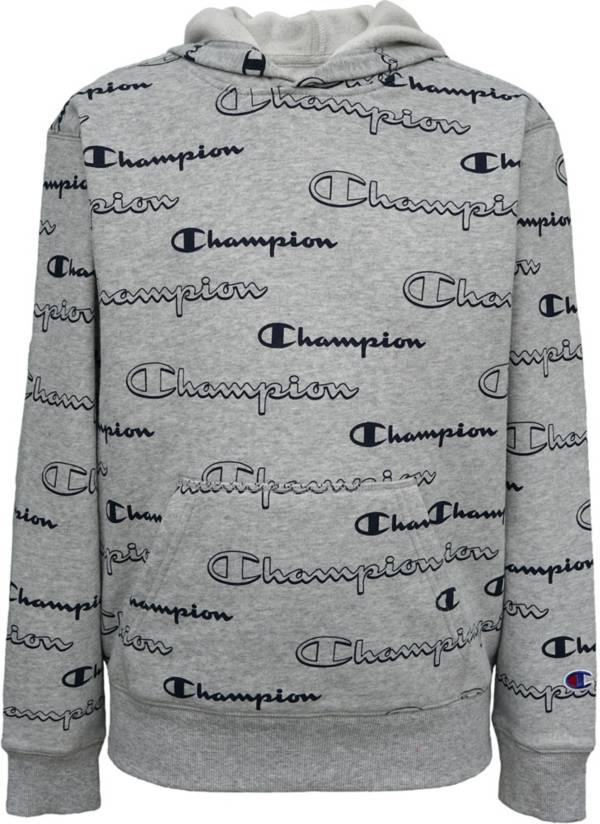 Champion Boys' AOP Shadow Script Hoodie product image