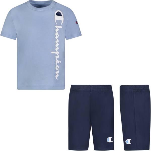 Champion Little Boys' Vertical Script T-Shirt and Shorts Set product image