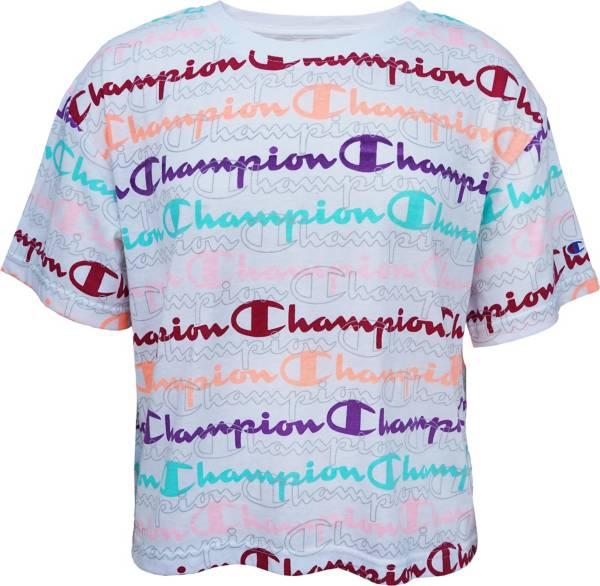 Champion Girls' Boxy Short Sleeve T-Shirt product image
