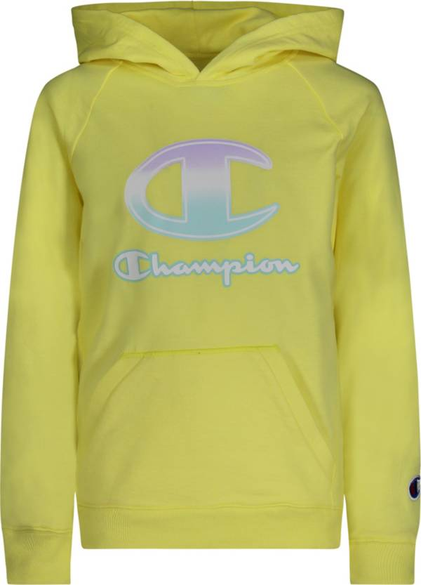 Champion Girls' Ombre Script French Terry Hoodie product image