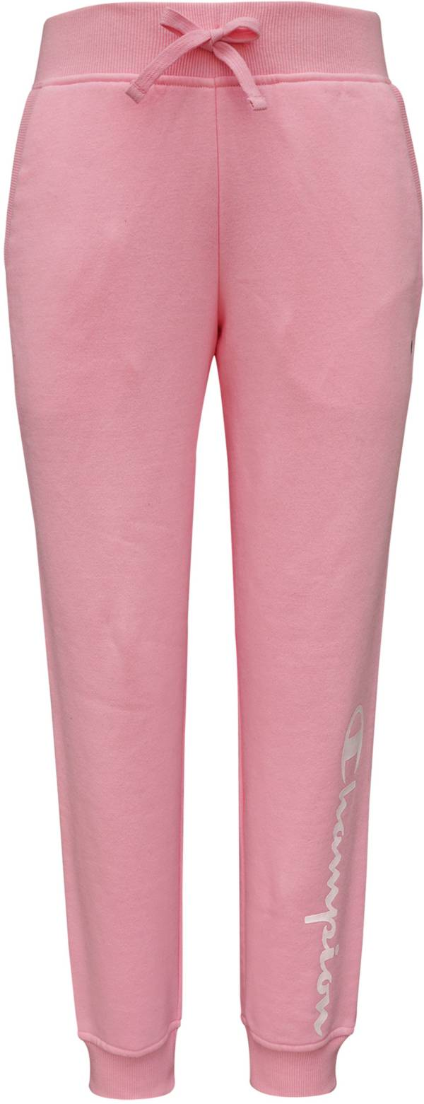 Champion Girls' Script Fleece Jogger Pants product image