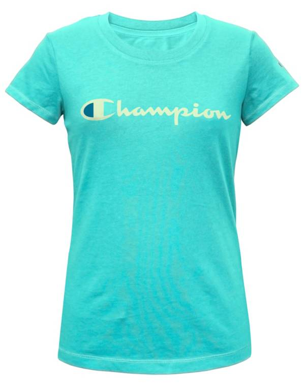 Champion Girls' Solid Graphic T-Shirt product image