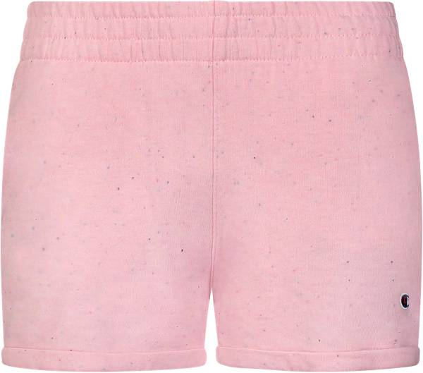 Champion Girls' Speckle French Terry Shorts product image