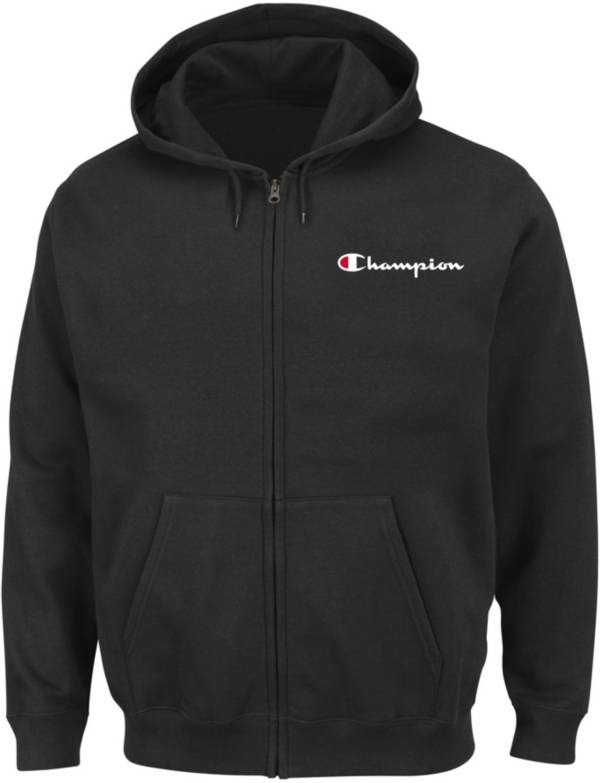 Champion Men's Big & Tall Script Graphic Full-Zip Fleece Hoodie product image
