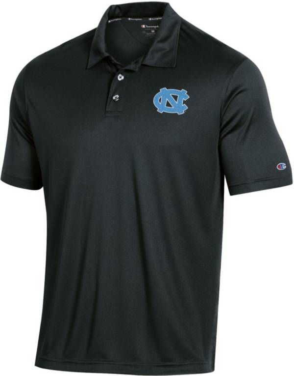 Champion Men's North Carolina Tar Heels Performance Black Polo product image