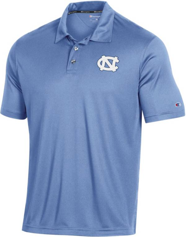 Champion Men's North Carolina Tar Heels Carolina Blue Performance Polo product image