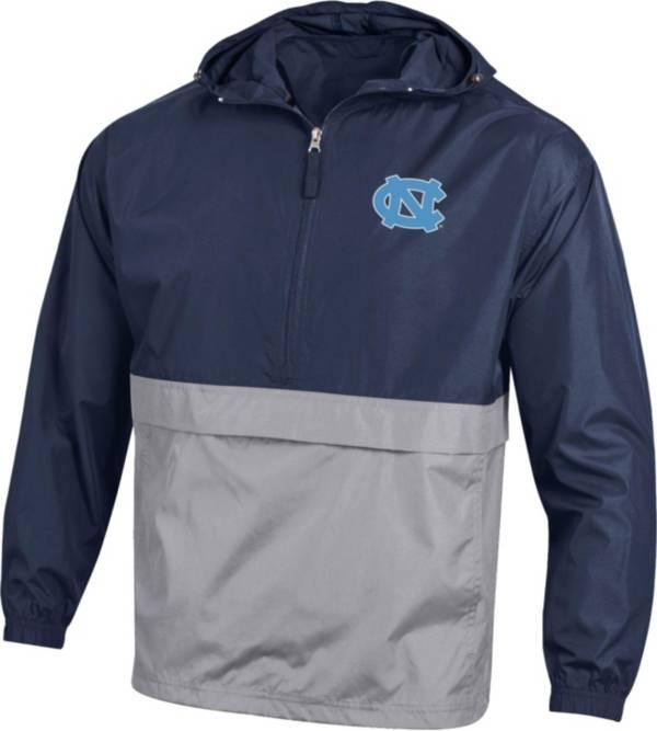 Champion Men's North Carolina Navy Packable Quarter-Zip Jacket product image
