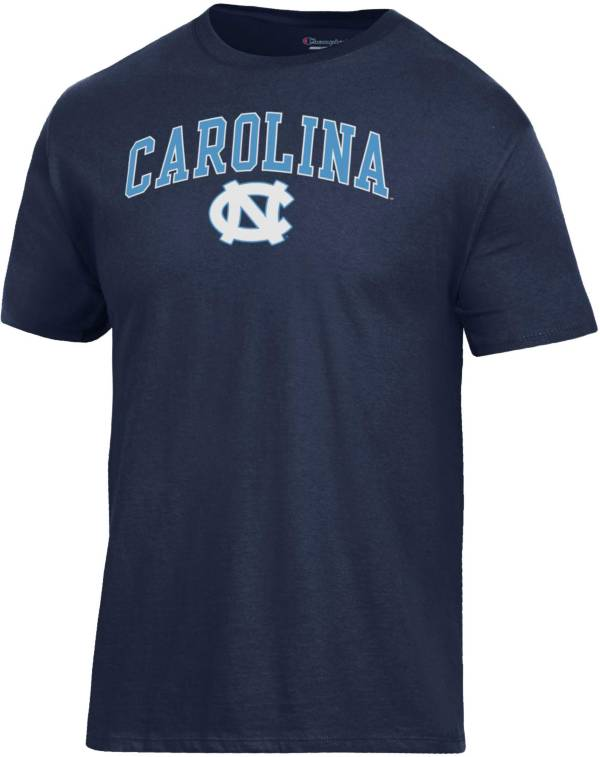 Champion Men's North Carolina Tar Heels Navy Ring Spun T-Shirt product image