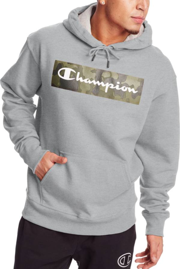 Champion Men's Powerblend Screen Print Pullover Hoodie product image