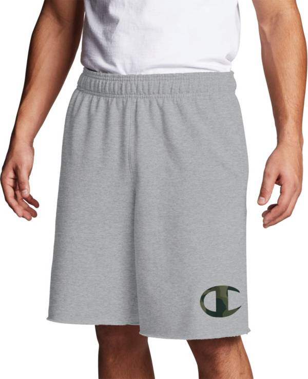 Champion Men's Powerblend Graphic Camo Shorts product image
