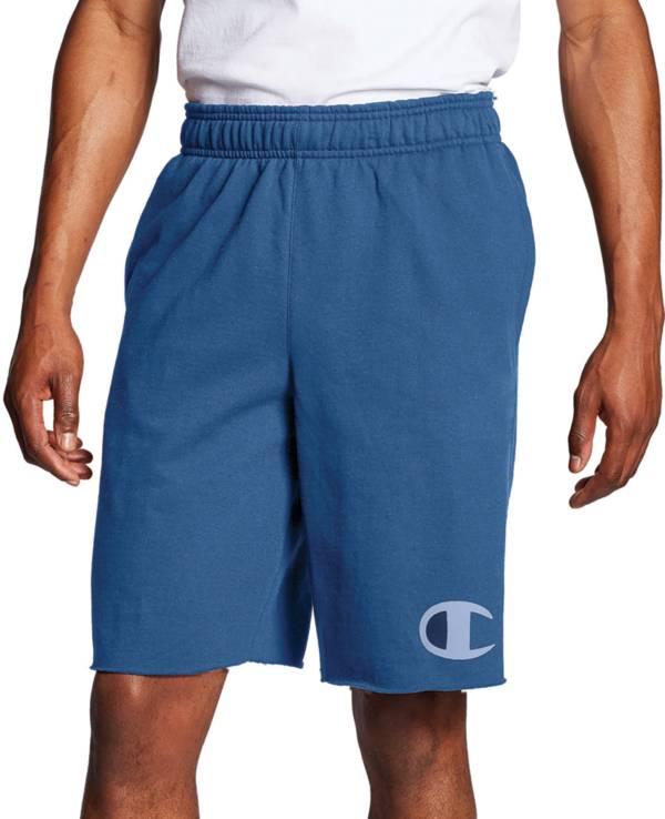 Champion Men's Powerblend Big C Logo Fleece Shorts product image