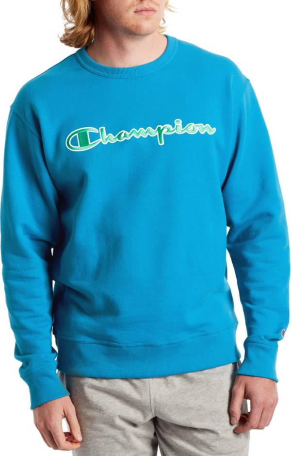 Champion Men's Powerblend Applique Crew Sweatshirt product image