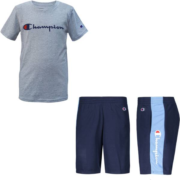 Champion Little Boys' Classic Script Basketball T-Shirt and Shorts Set product image